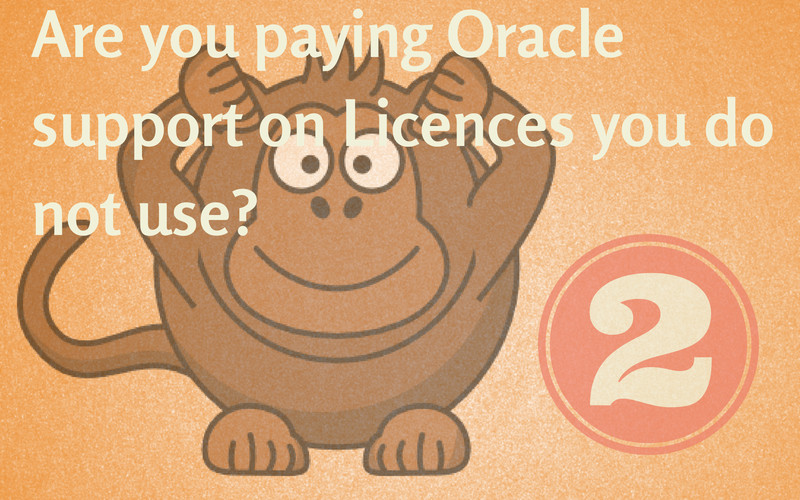 Reduce Oracle Support Part 2