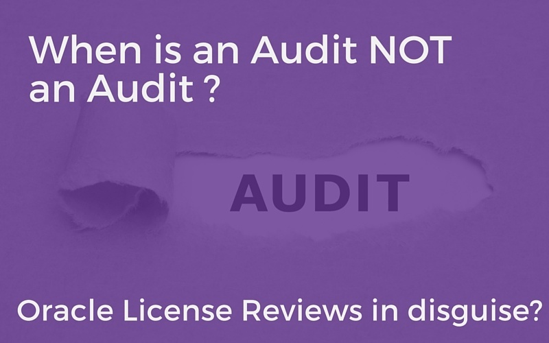 when is an audit really an audit