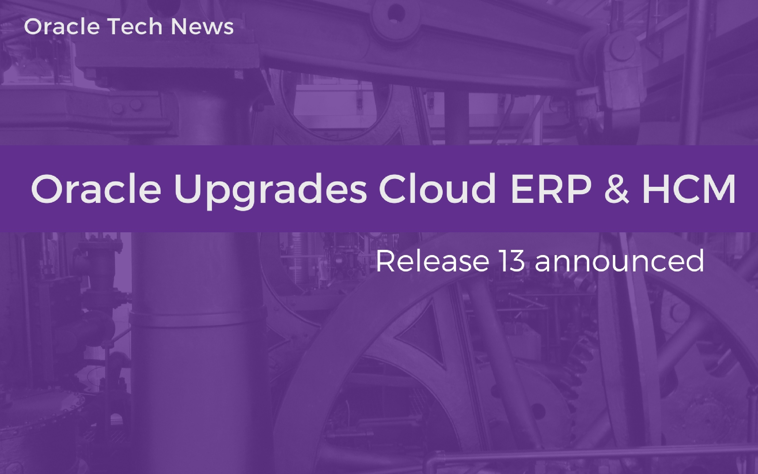 Oracle upgrades HCM ERP